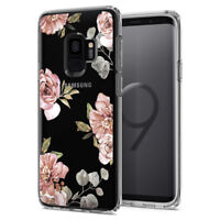 For Galaxy S9/S9 Plus | Spigen® [Liquid Crystal Blossom] Slim TPU Cover Case