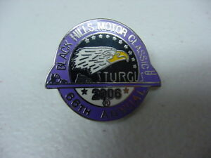 BLACK HILLS MOTORCYCLE CLASSIC*66 ANNUAL STURGIS RALLY*2006*PIN*BRAND NEW