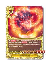 Buddyfight x 4 Berserk Gard - BT04/0091EN (C) Common Mint Future Card