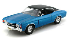 1971 Chevy Chevelle SS454, Blue - Maisto 31890 - 1/18 Scale Diecast Car