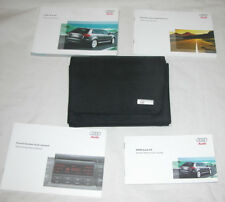 2008 Audi A3 Owner's Manual Set With Sound System & Quick Reference Guides