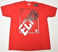 NWT NEW Mens Ecko Unltd T-Shirt Rhino Logo Graphic Print Tee Red Urban Sz L N595