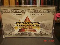 Stryper ‎~ In God We Trust ~ Cassette   Enigma Records ‎– D4-73317