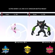 Zarude & Celebi   2020 Movie Bundle   6IV   Master Ball   Pokemon Sword & Shield