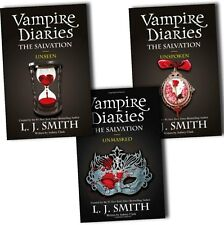 L J Smith The Vampire Diaries Salvation Trilogy 3 Books Collection Pack Set