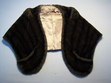 Vintage Regina Glenara By Glenoit Casual Fur Shaw Women's