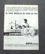 H013 - Advertising Pubblicità - 1963 - PIRELLI MATERASSO GOMMAPIUMA