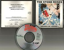 STONE ROSES I wanna be Adored 2 UNRELEASE PROMO CD Single IAN BROWN John Squire