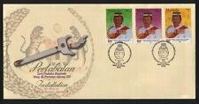 2002 MALAYSIA FDC - INSTALLATION OF 12TH YANG DIPERTUAN AGONG