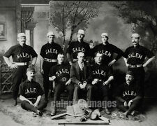 1890 PHOTO SALEM OREGON - Salem Baseball Team Portrait