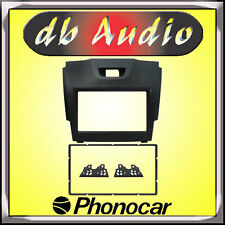 Phonocar 3/644 Mascherina Doppio 2DIN Isuzu D-Max 2012 Cornice Autoradio Auto