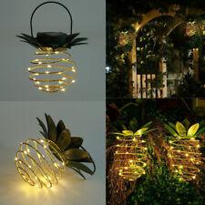 Pineapple Solar Lights Pathway Outdoor Garden Led Lamp Walkway Decor  Waterproof