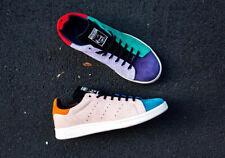 Adidas Originals Stan Smith Recon para hombre Blanco Rosa Azul Tenis Todas las Tallas de Zapatos