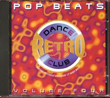 "POP BEATS VOLUME 4 - DANCE RETRO CLUB - 12"" MIXES CD COMPILATION [1551]"