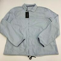 NWT Vestige Windbreaker Jacket Men's Size Large Long Sleeve Blue Lightweight