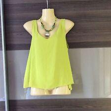 River Island Women's Vest Top, Strappy, Cami V Neck Hip Length Tops & Shirts
