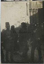 Jérusalem Femmes Russes Russie Voyage en Moyen-Orient 1909 Vintage silver 6x9cm