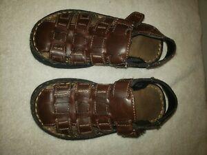 Beaver Creek Sandles, brown girls or boys Size 13, slightly Pre-owned