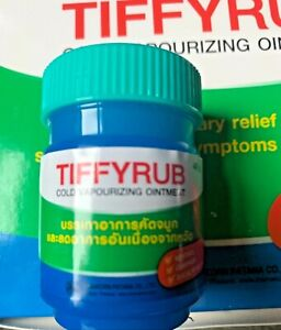 Vicks Vaporub, 1 Jar x 40g  of Cold Vaporizing Ointment - Relief of Cold
