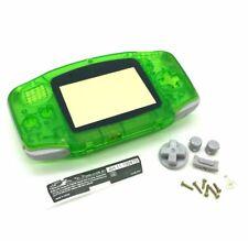 Passend für Game Boy Advance GBA,Gehäuse Transparent grün Housing