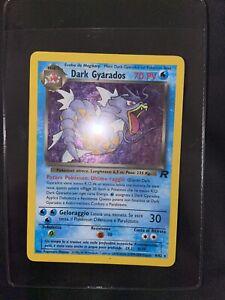 Carta Pokemon DARK GYARADOS 8/82 rara holo ITA Team Rocket