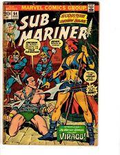 5 Prince Namor Sub-Mariner Marvel Comic Books # 64 65 66 67 68 VG Range RH2