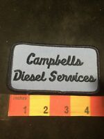 Vintage CAMPBELLS DIESEL SERVICES (Diesel Truck Related) Advertising Patch 80MA