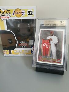 2003-04 Topps LEBRON JAMES Rookie Card BGS 9.5 #221