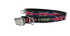 Cycle Dog Union Jack Design Dog Collar With Bottle Top Opener - M