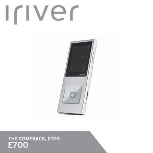 iRiver E700 Digital Audio Player Hi-Fi DSD mp3 FLAC APE 16GB 65g Free UPS Silver
