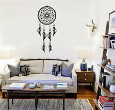 Dreamcatcher Talisman Bedroom Decor Wall Vinyl Mural Decal Stickers (ig3147)
