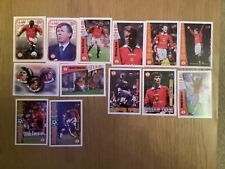 Futera 1997 fans selection Manchester United Trade Cards x 13