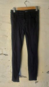 J Brand Super Skinny seriously black Jeans Size 25