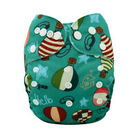 2015  Alva Baby Regular One size Reusable Pocket Cloth Diaper Nappy+1Insert H021