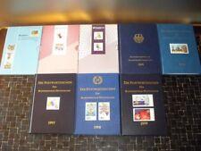 Bund Jahreszusammenstellungen 1992 - 1999 komplett