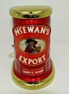 Rare McEWAN'S EXPORT Beer Bar Pump Top ideal for Home bar man cave