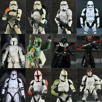 "6"" Star Wars Black Series Action Figure Darth Vader Boba Fett Stormtrooper Toy"