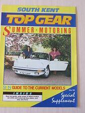 Top Gear, South Kent Motoring Magazine May 1989, Peugeot 309, 1989 Car Guide