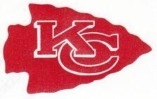 REFLECTIVE Kansas City Chiefs fire helmet motorcycle hard hat decal sticker yeti