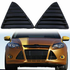 2x Car Front Bumper Lower Grill Grille Cover Triangle for Ford Focus 2011-2014