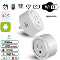 Smart Plug Socket Outlet Alexa Switch Wifi Google Home Android & IOS Amazon 2.4G
