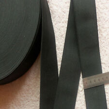 Black Color Waistband Elastic Band thickness 50mm*1M Elasticated band Craft Nice