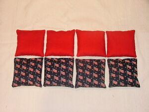 Small Flags vs Red Baggo/Cornhole Bean Bags