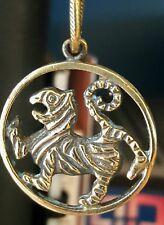 Shotokan Karate Tiger Medallion Handmade Bronze, Japan Martial Arts, Karate Art