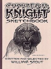 WILLIAM STOUT Charles R Knight Sketchbook Vol 1 Dinosaur ART BOOK #d/950 SIGNED