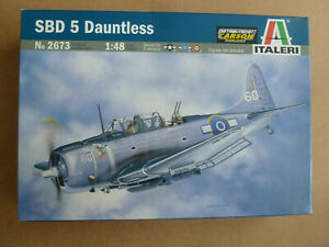 Italeri 2673 SBD 5 Dauntless 1:48