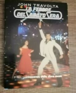 DVD La febbre del sabato sera - John Travolta -  Paramount Pictures 2002