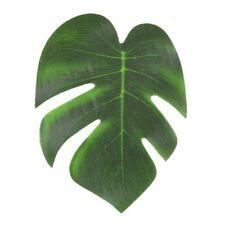 12Pcs Imitation Tropical Plant Leaves Beach Theme Hawaiian Luau Party Decoration