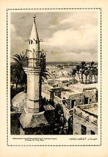 Muezzin in El Arisch Ägypten XL Druck 1916 Georg Macco * Aachen Islam Moschee
