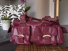TOMMY & KATE GENUINE LEATHER TRAVEL / OVER NIGHT BAG